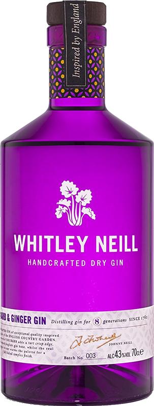 Whitley Neil - JJ Whitley Rhubarb & Ginger Gin  / 700mL
