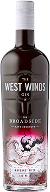 The West Winds Gin - The Broadside Navy Strength / 750mL