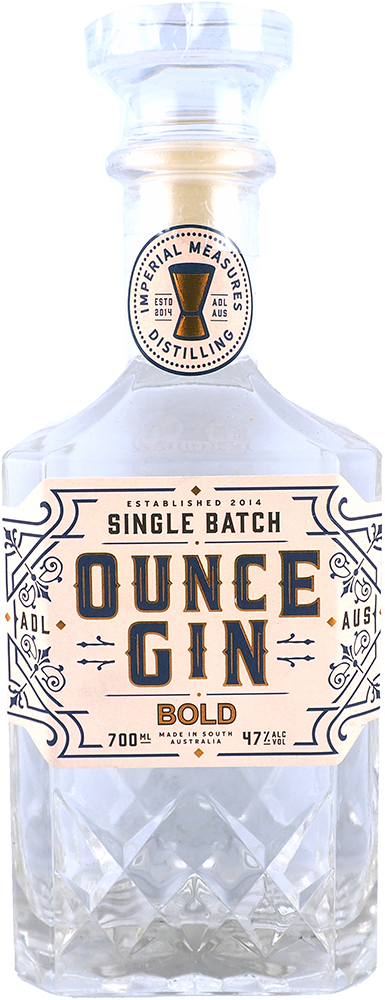 Imperial Measures Distilling - Ounce Gin 'Bold' / 700mL