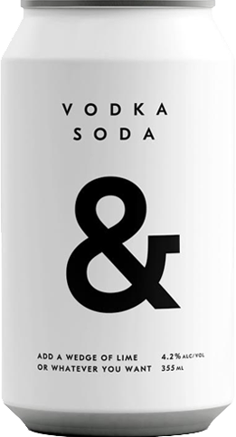 Ampersand - Vodka & Soda / 355mL / Can