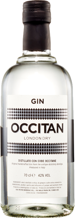 Bordiga - Occitan London Dry Gin / 700mL