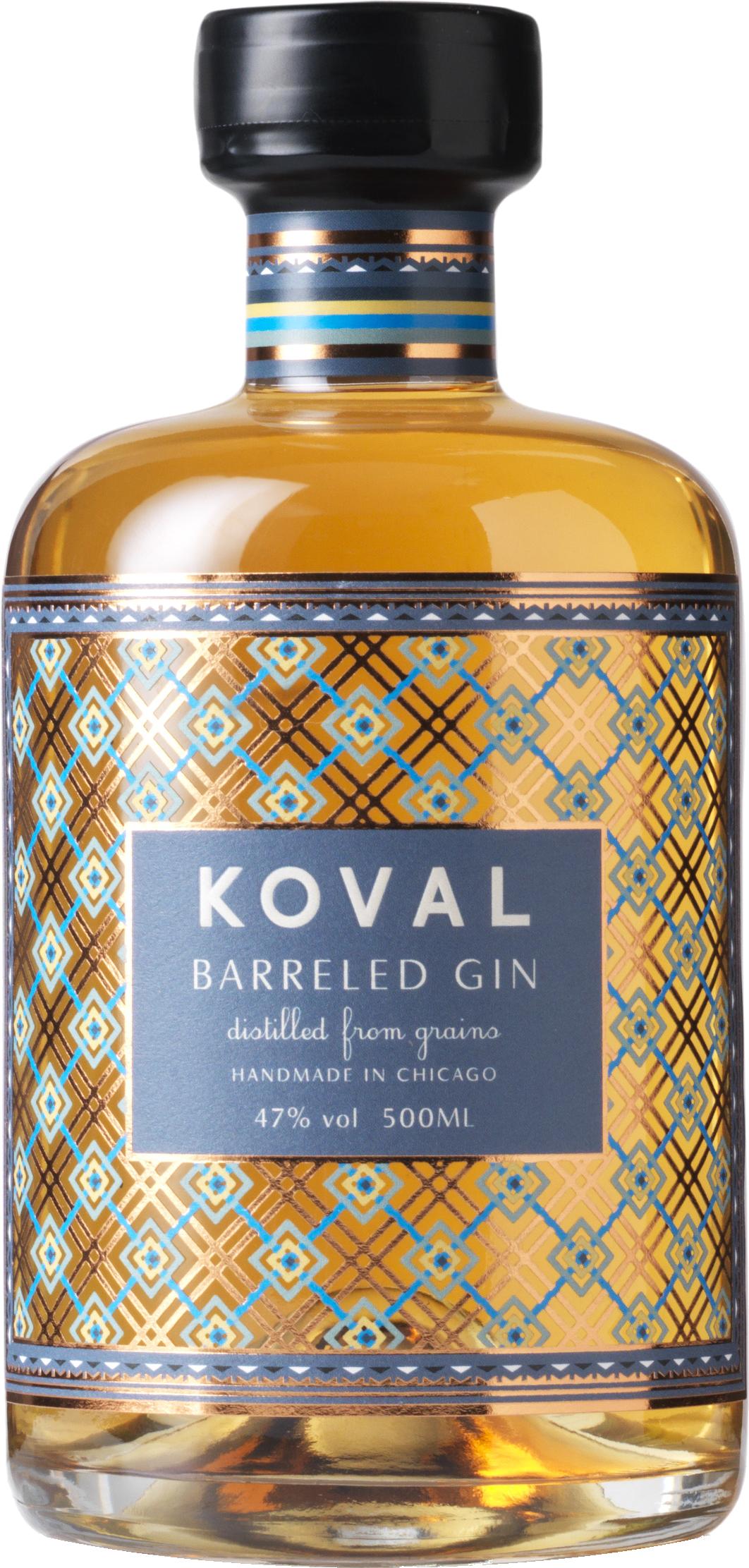 KOVAL - Barreled Gin / 500mL
