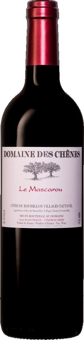 Le Domaine des Chênes - La Mascarou / 2014 / 750mL / AOC Côtes du Roussillon Villages Tautavel