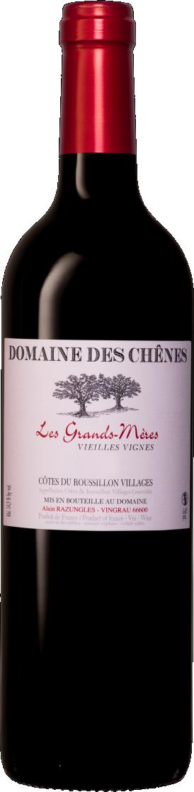 Le Domaine des Chênes - Les Grands-Meres Vieilles Vignes / 2014 / 750mL / AOC Côtes du Roussillon Villages