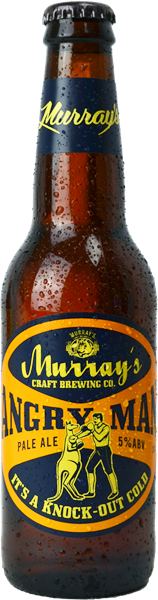 Murrays Craft Brewing Co.  - Angry Man Pale Ale / 330mL