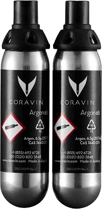 Coravin - Gas Supply Units 1 x 2 pack