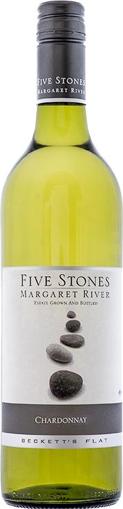 Beckett's Flat - Five Stones Chardonnay / 2018 / 750mL