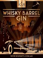 Kangaroo Island Spirits - Whisky Barrel Gin / 700mL